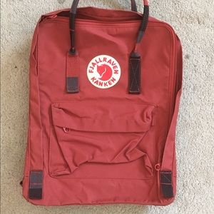 Brick Red Kanken Backpack (Full Sized)